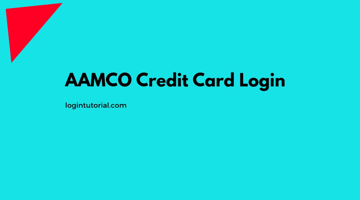 AAMCO Credit Card Login
