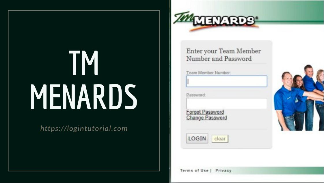 menards team member login