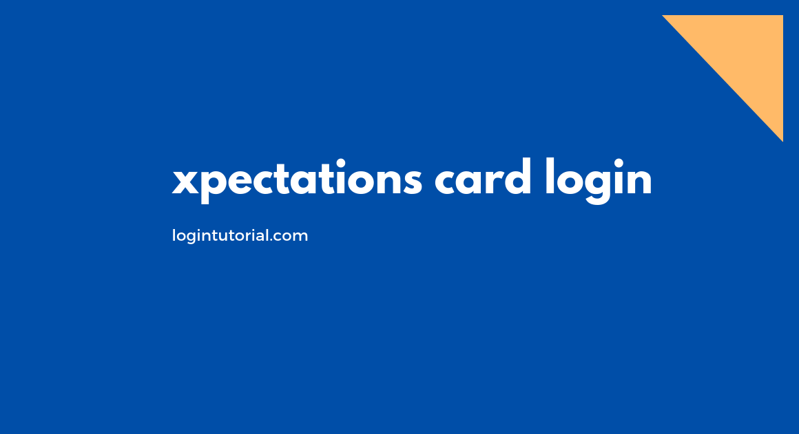 xpectations card login