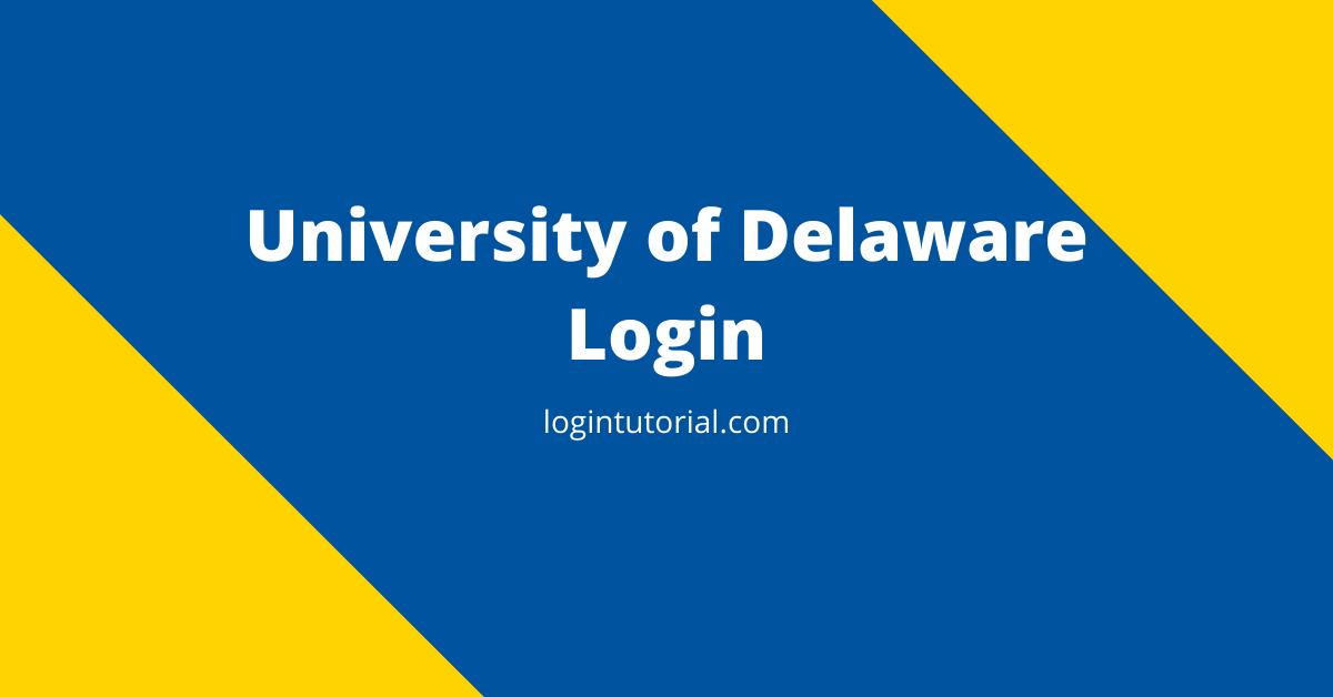 University of Delaware Login