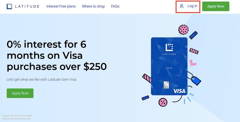 Gem Visa Login