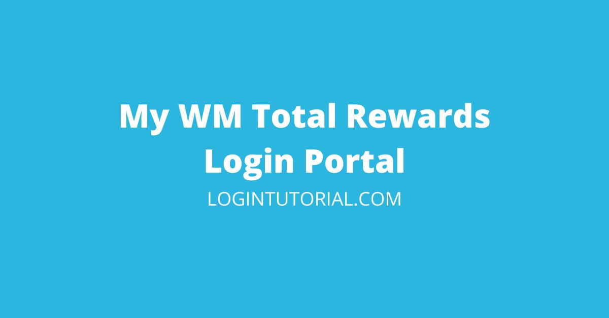mywmtotalrewards employee login
