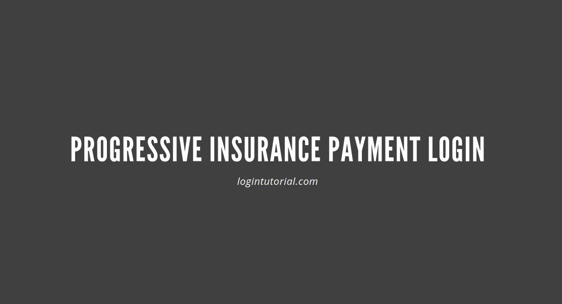 Progressive Insurance Payment