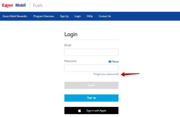 Exxon Mobil RewardsPlus Exxon Mobil Rewards+Forgot Password
