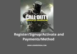 How to login register activate and deactivate