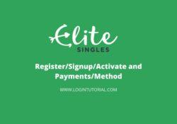How do I login Elite singles Account?