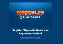 how to login miniclip account?